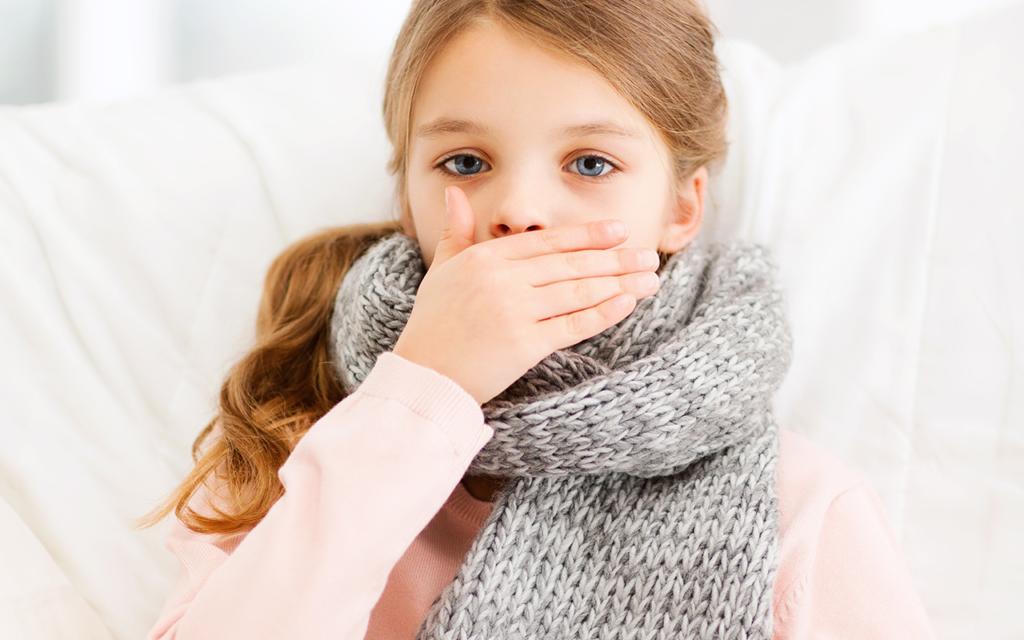 Кашель до рвоты у ребенка: возможные причины и лечение
