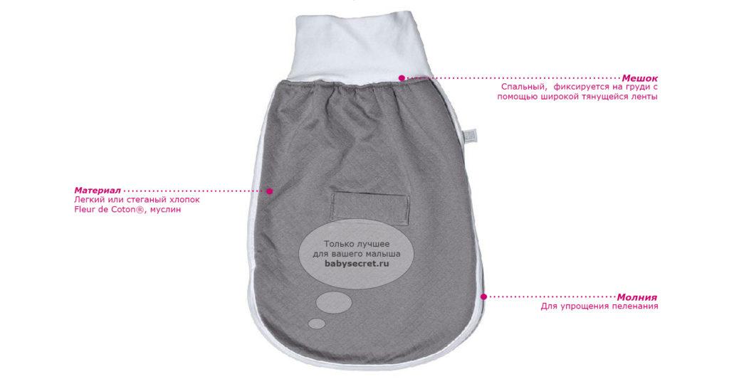 мешок для сна для новорожденных