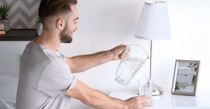 пить воду перед сном