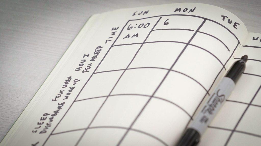 дневник сна
