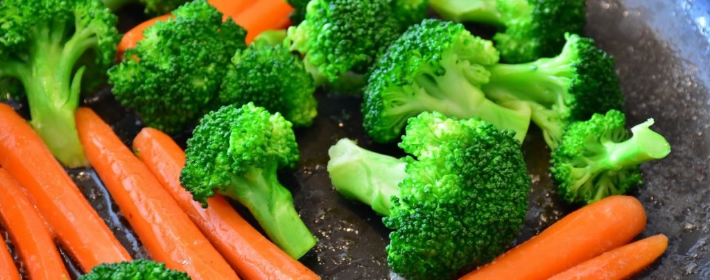 Морковь и брокколи - самое полезное