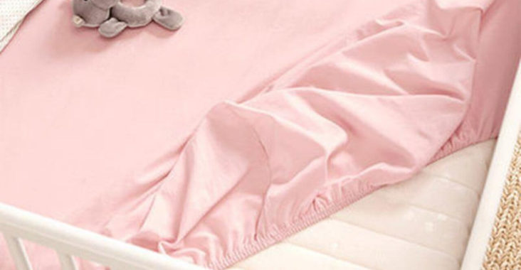 простынь на резинке в детскую кроватку своими руками