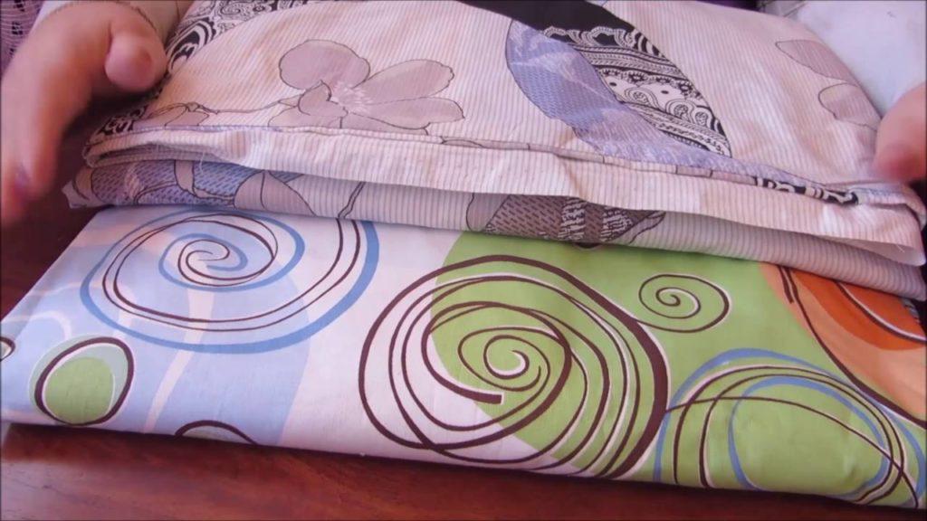 Шов на постельном белье