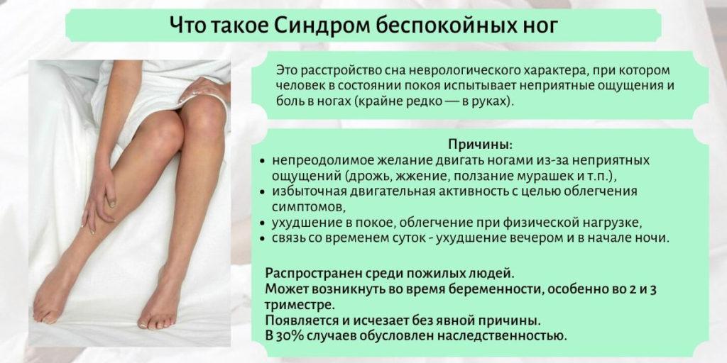 что такое синдром беспокойных ног