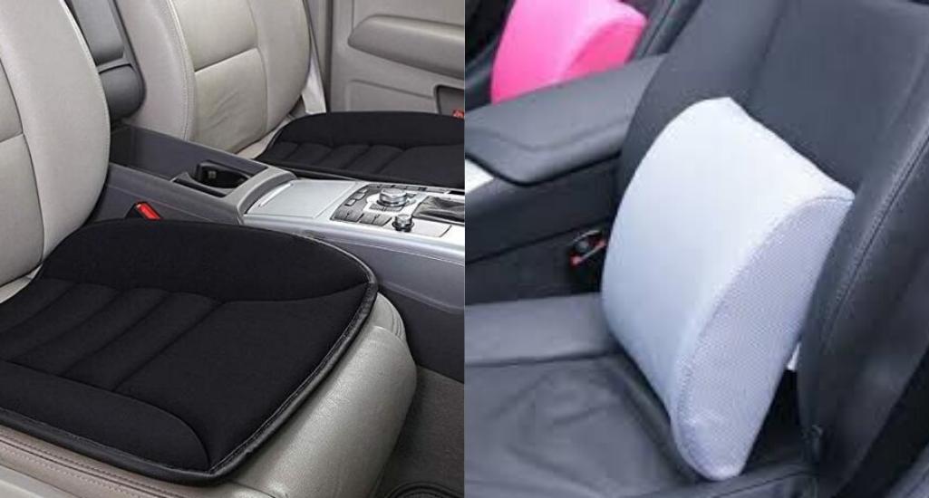 Виды подушек на сидение в автомобиль