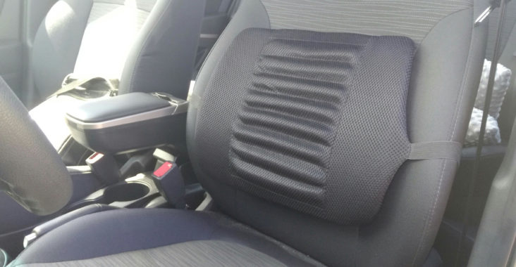 Подушка для поясницы в автомобиль
