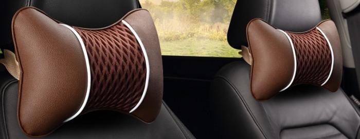 Подушка под шею для автомобиля