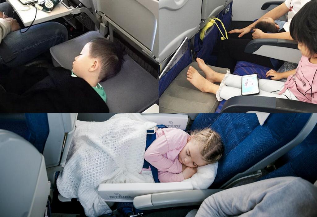 Применение подушки-кроватки для путешествия