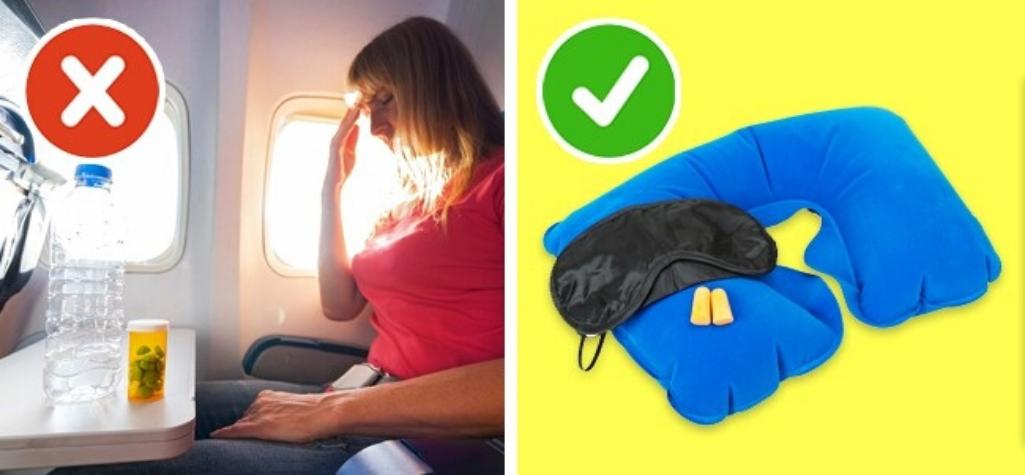 Что можно и что нельзя для сна в самолете