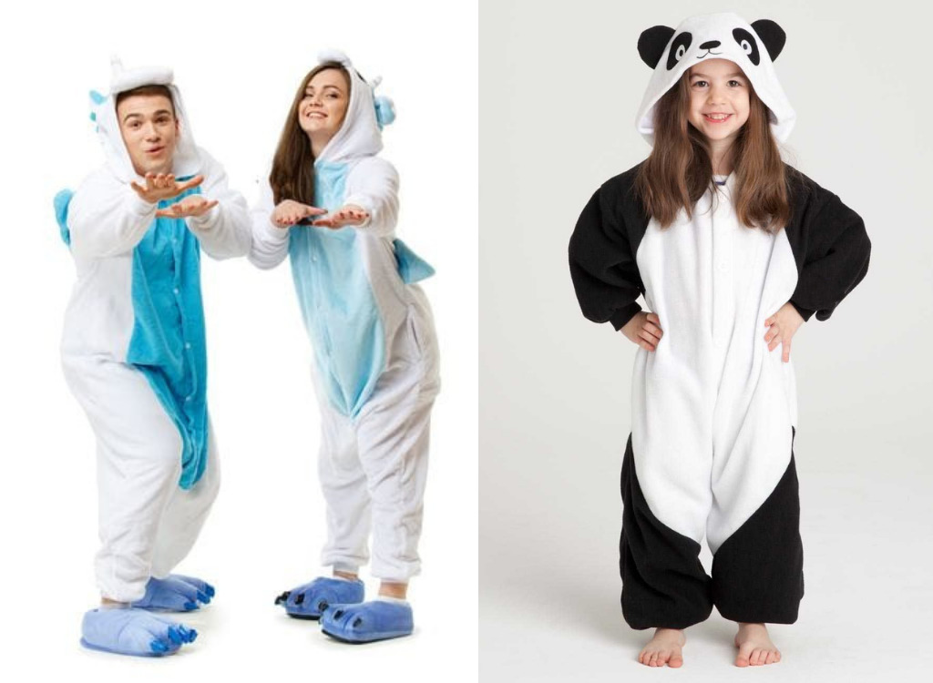 Люди в пижамах-кигуруми