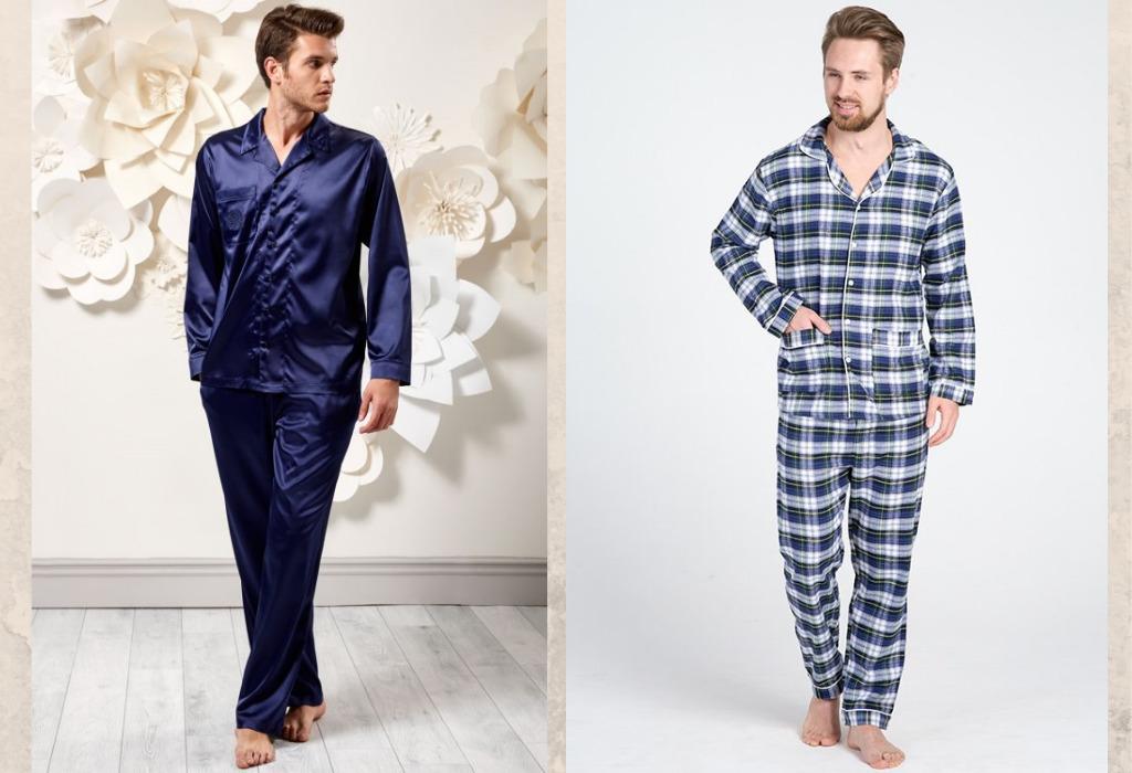 Мужчины в пижаме