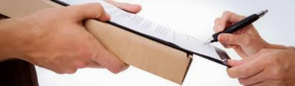 Ручка, бумага, рука
