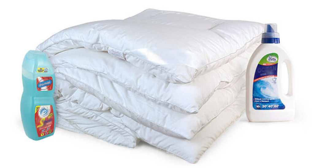 Одеяло, средства для стирки