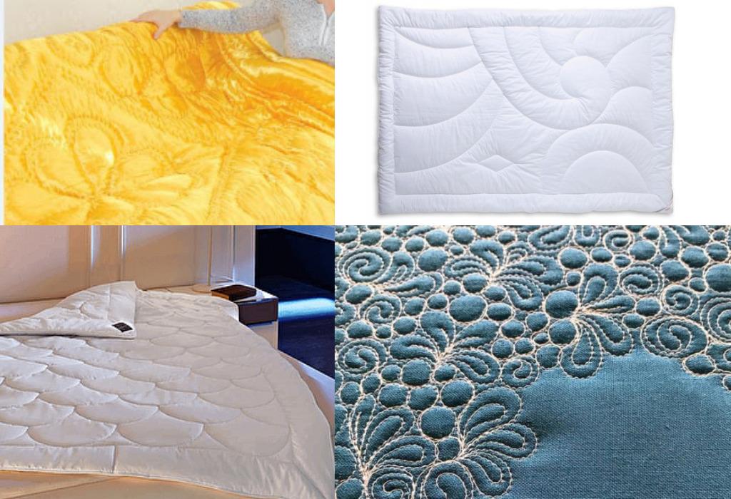 Рисунки на стеганых одеялах