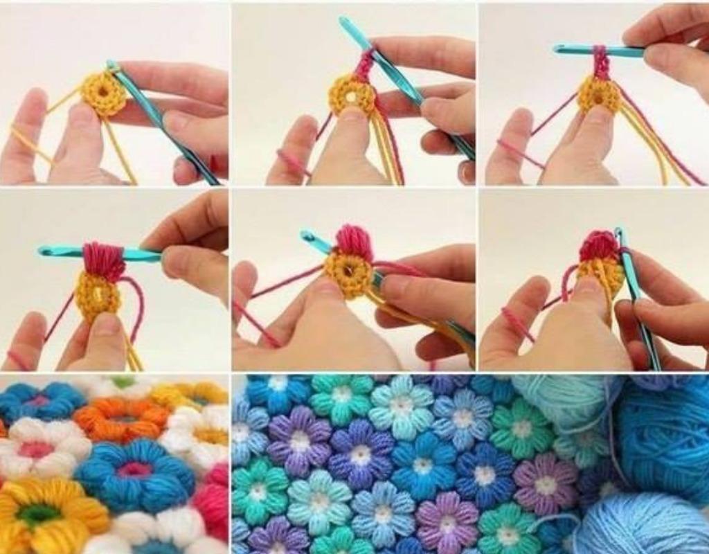 Пошаговая инструкция вязания крючком